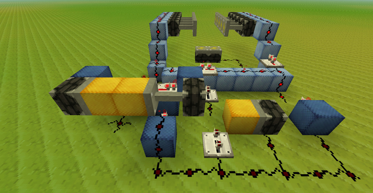 Tutorial Hidden Stairs Redstone Discussion And Mechanisms Minecraft Delay Circuit Java Edition Forum